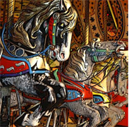 Carousel Horses by Mandy Collins