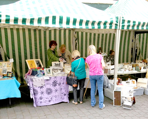 Happy customers at the stockport fringe